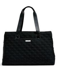 Vera Bradley | Black Triple-compartment Travel Bag | Lyst
