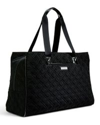 Vera Bradley   Black Triple-compartment Travel Bag   Lyst