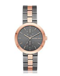 Michael Kors - Multicolor Garner Three-hand Bracelet Watch - Lyst
