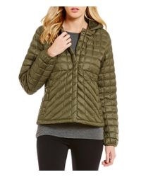 The North Face | Green Thermoball Quilted Removable-hood Water-repellent Jacket | Lyst