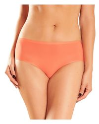 Chantelle - Orange Stretch Seamless Hipster Panty - Lyst