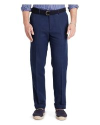 Polo Ralph Lauren | Blue Big & Tall Classic-fit Linen-blend Chino Pants for Men | Lyst