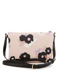 kate spade new york - Multicolor Hawthorne Lane Collection Carolyn Floral Cross-body Bag - Lyst