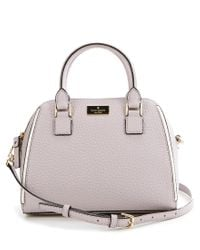 Kate Spade | Gray Prospect Place Collection Small Pippa Satchel | Lyst
