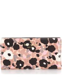 kate spade new york | Multicolor Cedar Street Collection Floral Stacy Continental Wallet | Lyst