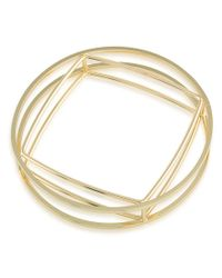 Trina Turk | Metallic Adrift Bangle Bracelet | Lyst