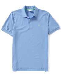 Brooks Brothers | Blue Golden Fleece Original-fit Supima Performance Short-sleeve Polo Shirt for Men | Lyst