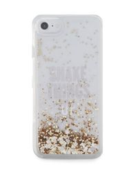 kate spade new york | Multicolor Shake Things Up Glitter Iphone 7 Case | Lyst