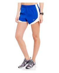 Nike | Blue Dry Tempo Running Shorts | Lyst