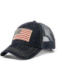 Polo Ralph Lauren | Blue Denim Trucker Hat for Men | Lyst