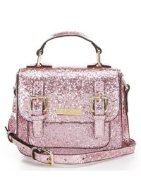 kate spade new york | Pink Glitter Scout Bag | Lyst
