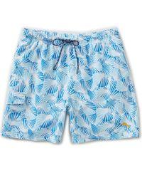 Tommy Bahama   Blue Naples Shell We Dance Novelty-print Swim Trunks for Men   Lyst