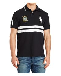 Polo Ralph Lauren | Black Big & Tall Classic-fit Big Pony Short-sleeve Polo Shirt for Men | Lyst