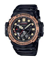 G-Shock | Black Master Of G-series Ana-digi Resin-strap Watch for Men | Lyst
