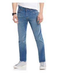 True Religion   Blue Geno Flap-pocket Corduroy Jeans for Men   Lyst