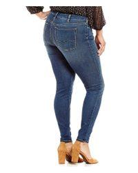 Silver Jeans Co. | Blue Plus Bleecker Straight Fit Leggings | Lyst