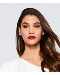 Lauren by Ralph Lauren - White Faux-pearl Studs Earrings - Lyst