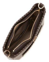 MICHAEL Michael Kors - Brown Gloria Pocket Whipstitch Cross-body Bag - Lyst