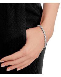 Swarovski - Metallic Angelic Pav Tennis Bracelet - Lyst