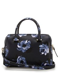 Kate Spade - Blue Cameron Street Night Rose Large Lane Satchel - Lyst