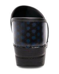 Dansko - Multicolor Professional Polka Dot Patent Clogs - Lyst