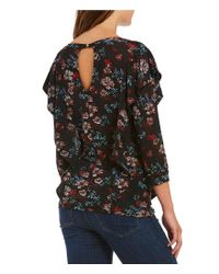 Free People - Multicolor Dock Street Knit Top - Lyst