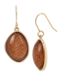 Kenneth Cole | Multicolor Faux-citrine Drop Earrings | Lyst