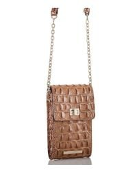 Brahmin - Brown Toasted Almond Collection Madison Cross-body Bag - Lyst