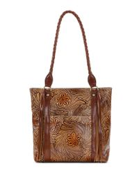 Patricia Nash - Brown Tobacco Fields Collection Rena Tote - Lyst