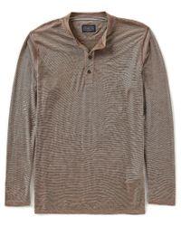 Pendleton - Brown Outdoor Merino Long-sleeve Henley for Men - Lyst