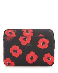 Kate Spade Red Poppy Laptop Case