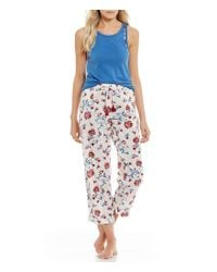 Lucky Brand - Multicolor Floral-print Lawn Sleep Pants - Lyst
