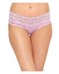 B.tempt'd - Pink B.temptd By Wacoal Lace Kiss Hipster Panty - Lyst