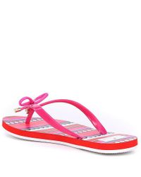 Kate Spade - Pink Nova Flip Flops - Lyst