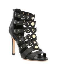 Nicole Miller - Black Napoli Gladiator Dress Sandals - Lyst