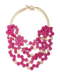 Trina Turk - Pink Indian Canyon Multi-strand Necklace - Lyst