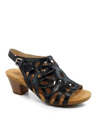 9e5ae4dd29d9 Josef Seibel Ruth 03 Dress Sandals in Natural - Lyst