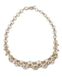 Carolee - Metallic Majestic Pearl Shaky Necklace - Lyst