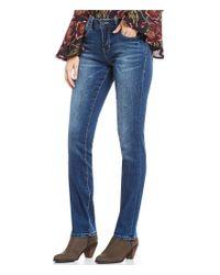 Jag Jeans - Blue Hanna Straight Leg Jeans - Lyst