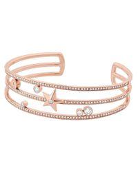 Michael Kors - Metallic Beyond Brilliant Celestial Cuff Bracelet - Lyst
