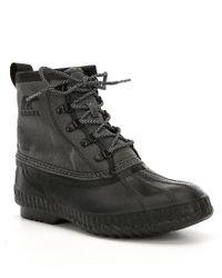 Sorel - Black Men's Cheyanne Ii Short Cvs Waterproof Boots for Men - Lyst