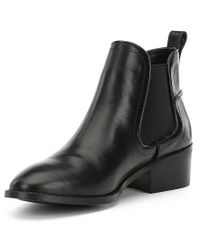 Steve Madden - Black Dicey Booties - Lyst