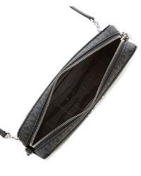 MICHAEL Michael Kors - Black Signature Perforated Cross-body Bag - Lyst