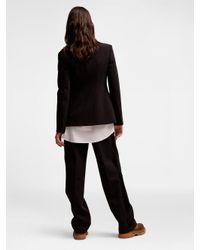 DKNY - Black Tech Stretch Suiting Jacket - Lyst