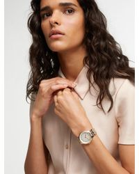 DKNY | Metallic Park Slope Two-tone 3 Hand Watch | Lyst