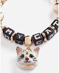 Dolce & Gabbana - Metallic Bracelet With Dice - Lyst