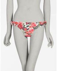 Dolce & Gabbana | Pink Printed Sea Slip | Lyst