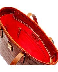 Dooney & Bourke - Red Croco Charleston - Lyst