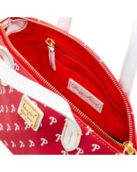 Dooney & Bourke - Red Philadelphia Phillies Ruby Mini Crossbody Satchel - Lyst