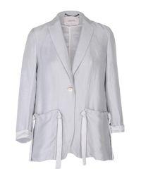 Dorothee Schumacher | Blue Natural Flow Jacket Sleeve 1/1 | Lyst